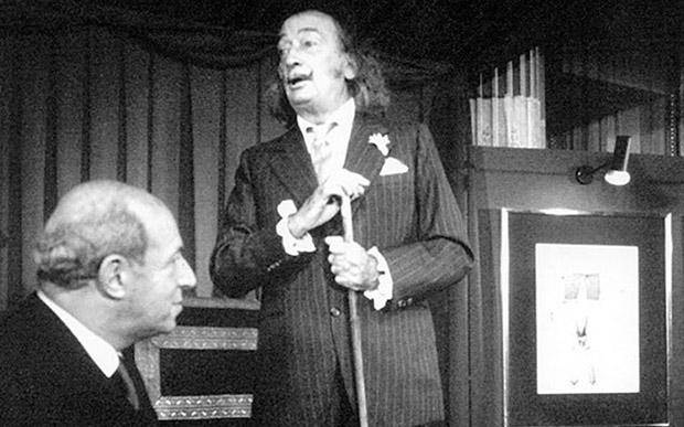 Salvador Dali x Scabal